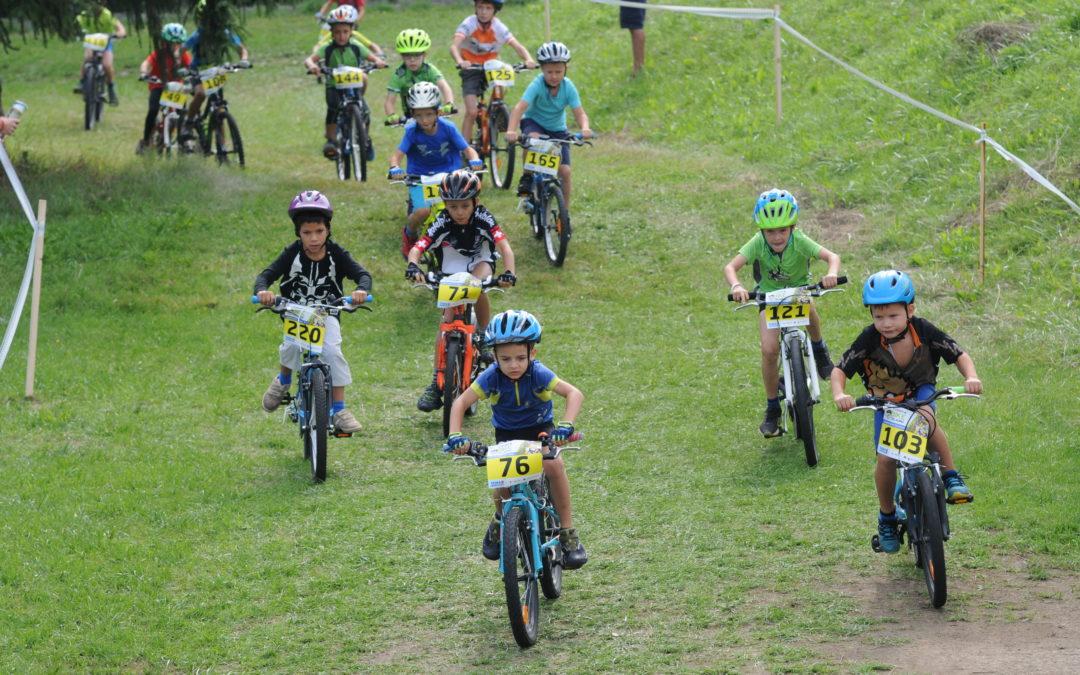 Cyklistické závody pro děti 2020